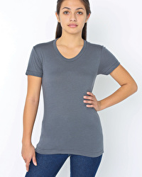 Poly/cotton short sleeve women's T