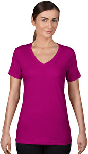 Women`s Sheer V-Neck Tee