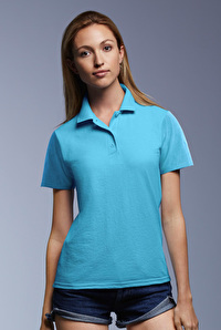 Women`s Double Piqué Polo