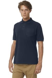 Safran Polo with Pocket