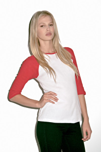 T-shirt base-ball femme manches 3/4 BELLA