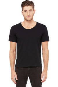 NEW MEN'S WIDE NECK TEE