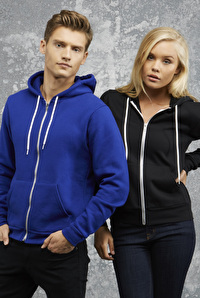 Unisex Zip-up Sweat Hoodie