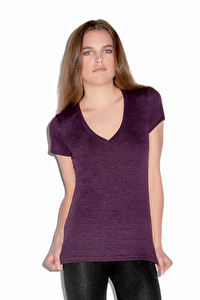 Women's Triblend Deep V-Neck