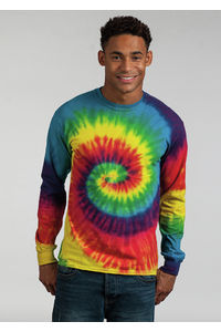 Long Sleeve Tie-dye T