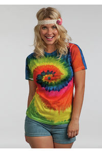 Ladies Sublimated Rainbow T