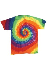 Multi-Color Spirals - Youth T-Shirt