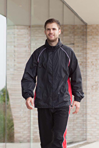PIPED TRAINING JACKET