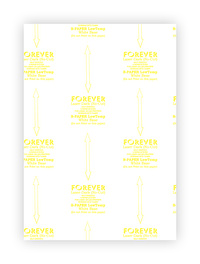 Laser-Dark (No-Cut) B-Paper LowTemp (100 feuilles)