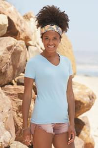 Lady-Fit V-Neck T