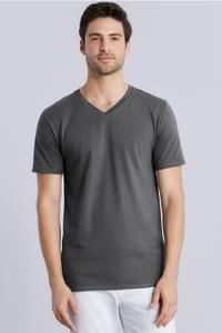 Premium Cotton Adult V-Neck T-Shirt