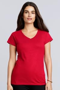 Ladies` Softstyle® V-Neck T-Shirt