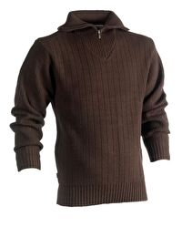 PULLOVER COL ZIPPE NJORD