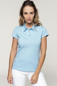 Polo Jerzey femme manches courtes