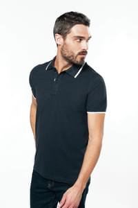 POLO HOMME MANCHES COURTES KARIBAN