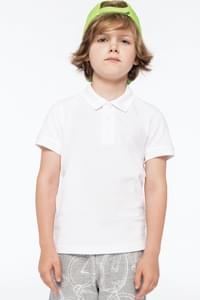 KIDS' SHORT SLEEVE POLO SHIRT KARIBAN