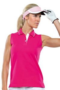 Ladies Sports Sleeveless Polo Shirt