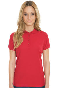 Grace- Women`s Viscose-Cotton Pique-Polo
