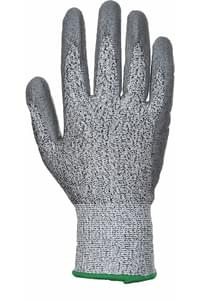Cut level 3 PU palm coated glove