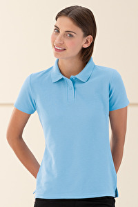 Ladies Poloshirt, Polyester-Cotton Blend