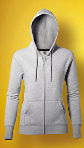 Ladies' Heavyweight Full Zip Hoodie