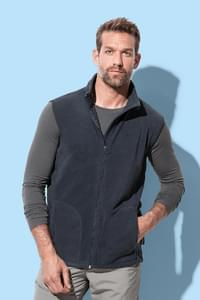 Fleece vest for men
