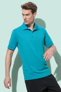 Short sleeve polo shirt for men