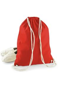 Organic Cotton Drawcord Bag