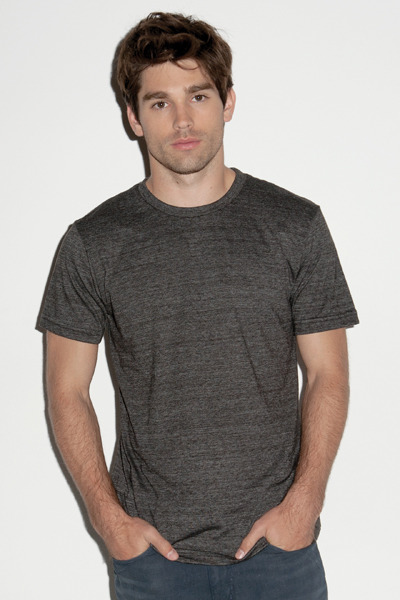 Canvas  Men's Triblend Crew Neck Tee